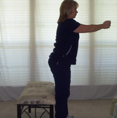 Balance Exercises Standing with Clasped Hands