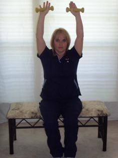Arm Exercises Shoulder Overhead Press