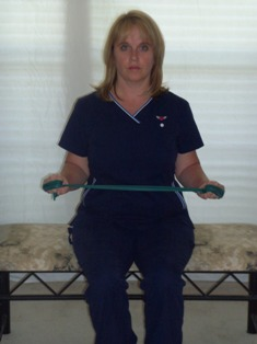 External Rotation wth theraband
