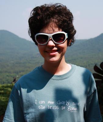 Notice the Caption on Alex's Shirt :)