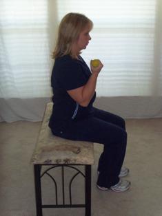 Arm exercises biceps curl
